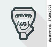 parking meter | Shutterstock .eps vector #572863708