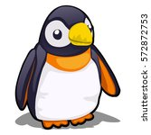 Soft Toy Plush Penguin Isolate...