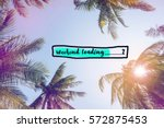 weekend loading bar with... | Shutterstock . vector #572875453