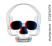 Vector Image Of Skull Of The...