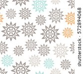 Abstract Cute Seamless Pattern...