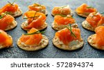 Smoked Salmon And Soft Chees...