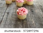 Pink Cupcake Dotted With Little ...