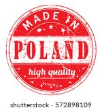 """rubber stamp with text """"made in ..."""