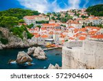 beautiful cozy view of the part ... | Shutterstock . vector #572904604