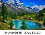 switzerland  arolla  evolene ... | Shutterstock . vector #572914180
