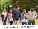 people  friendship ... | Shutterstock . vector #572918770
