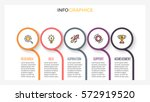 business infographics.... | Shutterstock .eps vector #572919520