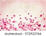 happy valentine's day | Shutterstock . vector #572922766