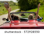 leisure  road trip  travel and... | Shutterstock . vector #572928550