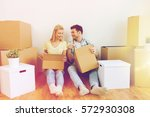 home  people  repair and real... | Shutterstock . vector #572930308