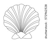 Prehistoric Seashell Icon In...