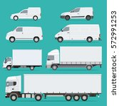 vector illustration set of... | Shutterstock .eps vector #572991253