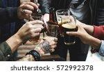 craft beer booze brew alcohol... | Shutterstock . vector #572992378