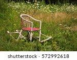 empty chair | Shutterstock . vector #572992618