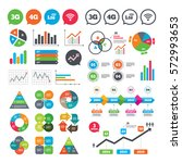 business charts. growth graph....   Shutterstock .eps vector #572993653