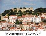 beautiful cityscape of lisbon... | Shutterstock . vector #57299734