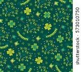 St. Patrick\'s Day Seamless...