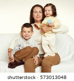 mother and child  family... | Shutterstock . vector #573013048