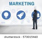 start up business rocket ship... | Shutterstock . vector #573015460
