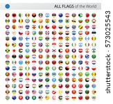 Round World Flags Vector...
