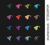 winter hats   Shutterstock .eps vector #573028939