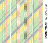 seamless raster geometrical... | Shutterstock . vector #573048610