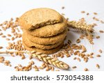 Integral Cookies With Linseed...