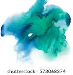 abstract space hand painted... | Shutterstock . vector #573068374