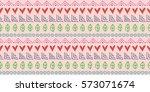 seamless raster pattern. ethnic ... | Shutterstock . vector #573071674