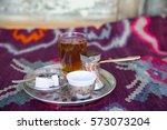 turkish coffee | Shutterstock . vector #573073204
