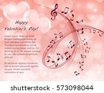romantic abstract background... | Shutterstock .eps vector #573098044