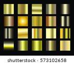 vector collection of metal... | Shutterstock .eps vector #573102658