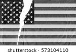 black and white torn and grunge ... | Shutterstock . vector #573104110