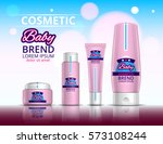 cosmetic set for the baby.... | Shutterstock .eps vector #573108244