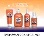 cosmetic set for the baby.... | Shutterstock .eps vector #573108250