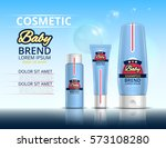 cosmetic set for the baby....   Shutterstock .eps vector #573108280