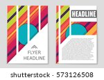 abstract vector layout... | Shutterstock .eps vector #573126508