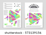 abstract vector layout... | Shutterstock .eps vector #573139156