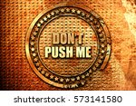 Do Not Push Me  3d Rendering ...