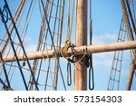 Detail Of Mast Of Historic...