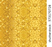 vector golden foil abstract... | Shutterstock .eps vector #573170728