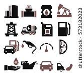 oil icon set | Shutterstock .eps vector #573182023