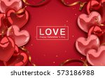 valentine's day template ...   Shutterstock .eps vector #573186988