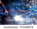 welding | Shutterstock . vector #573188578