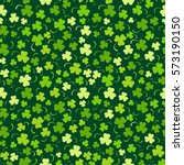 happy st. patrick's day... | Shutterstock .eps vector #573190150