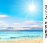 shores of sweet heaven | Shutterstock . vector #57319303