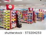 Photograph Of Shelves With...