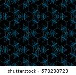modern geometric seamless... | Shutterstock .eps vector #573238723