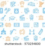 culture and creative fine art... | Shutterstock .eps vector #573254830